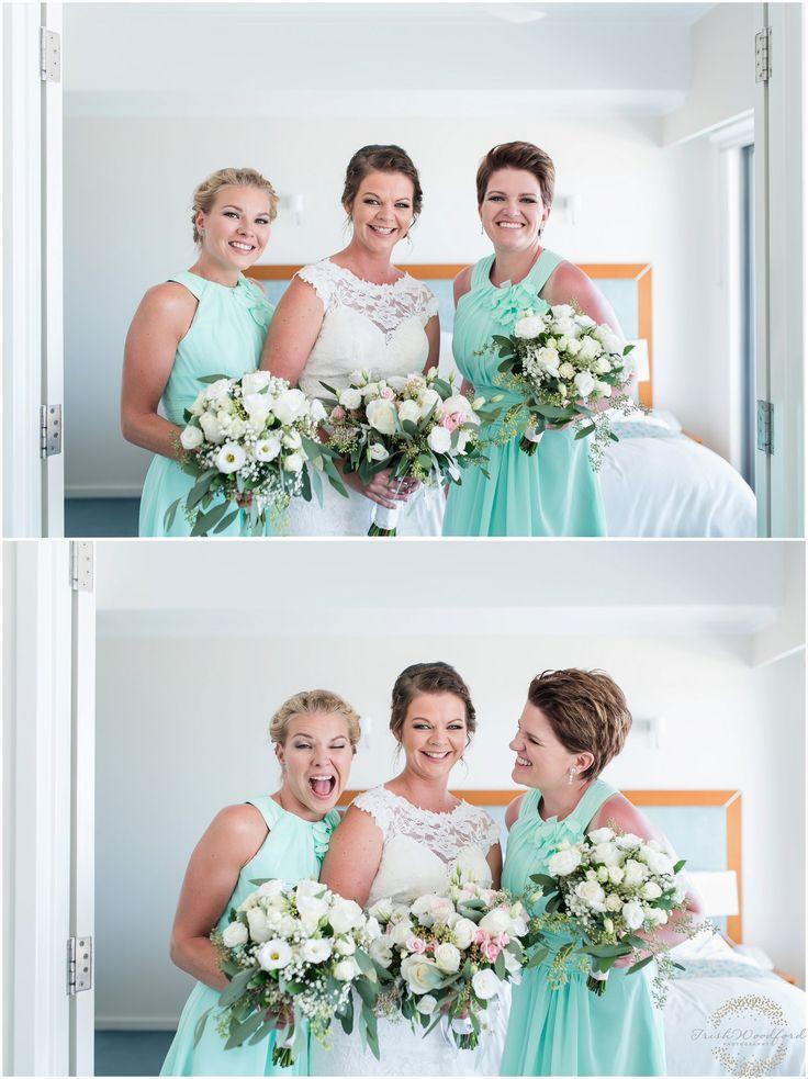Mandurah Beach Wedding   Bride & Bridesmaids @Seashells Resort Mandurah   Jan & Susan   Trish Woodford Photography