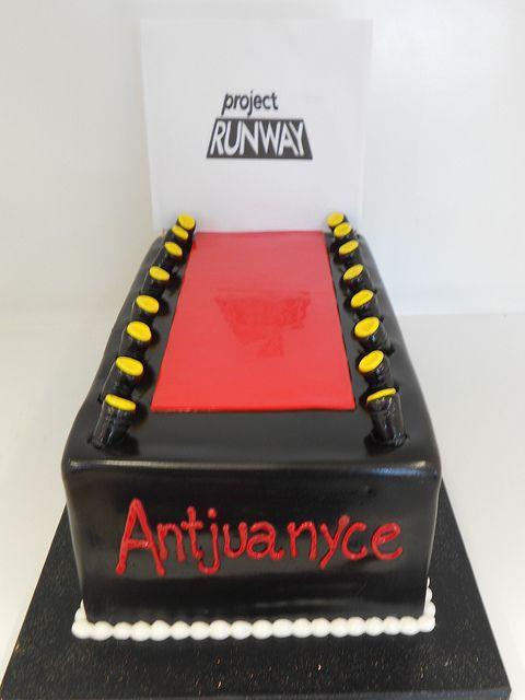 Project Runway Cake 1519 Flickr Photo Sharing Custom Cakes Pinterest