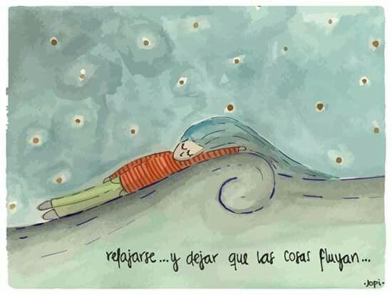 Relajarse...