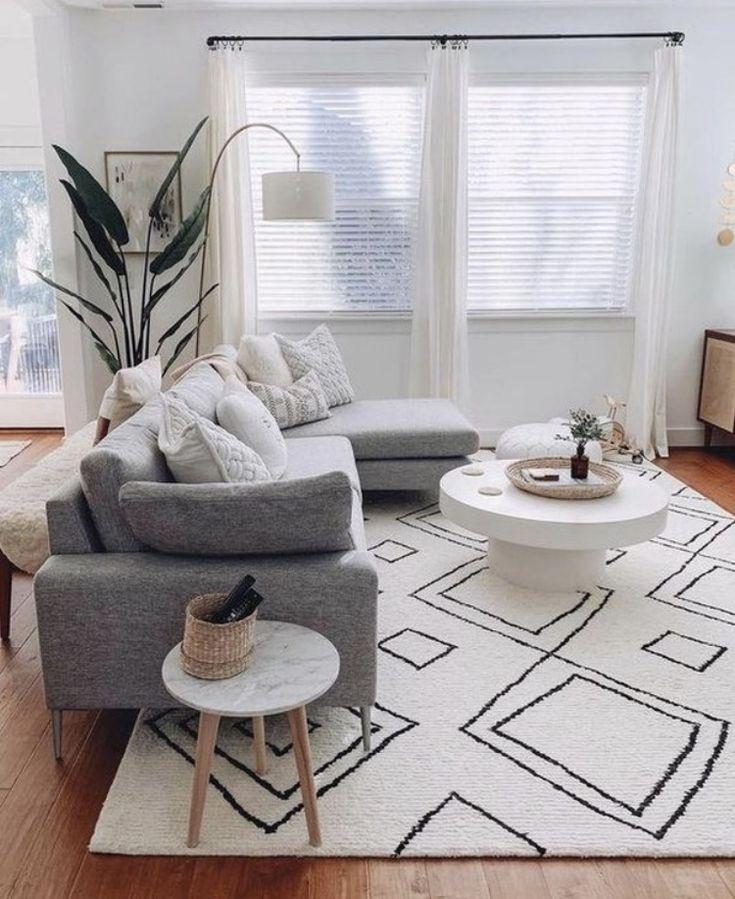 Apartment 2021   Trendy living rooms, Simple living room, Living room scandinavian