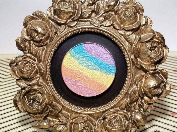 Rainbow-Puder selbstgemacht