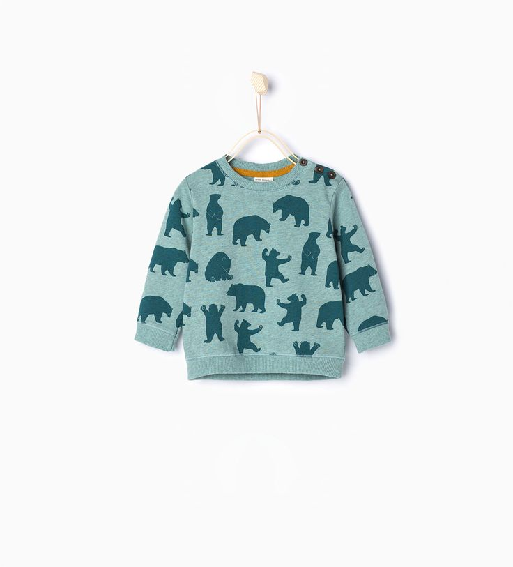 Bears sweatshirt-New this week-Baby boy-COLLECTION AW15 | ZARA United States