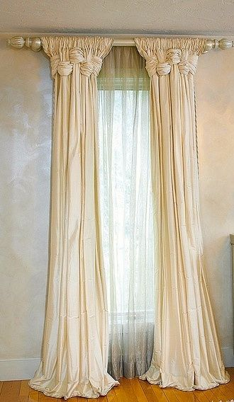 Blinds Curtains, Curtain Panels, Dining Room Curtains, Valances, Neutral  Curtains, Ballet Room, Window Scarf, Window Dressings, Curtain Ideas