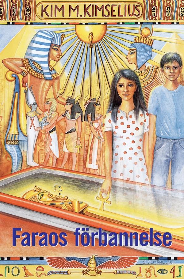 BLI FÖRFATTARE: Denna bok tar dig med till Farao Tutankhamon och hans regeringstid. Den ger en målande beskrivning av Konungarnas Dal, Karnaktemplet i Luxor, och av det dagliga livet i Egypten under 1300-talet före Kristus, samtidigt som du läser en otroligt spännande berättelse. 3:e boken i den fristående historiska äventyrsserien om Theo och Ramona. 1:a boken är Tillbaka till Pompeji. Mer om att bli författare http://tips-om.se/jobba-kreativt/tips-om-bli-forfattare