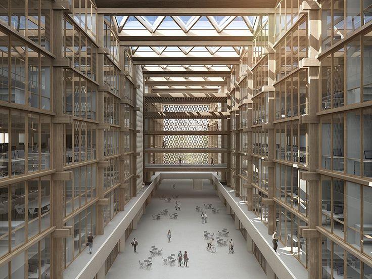 Bart & Buchhofer Architekten - Neubau Campus BFH, Biel/Bienne