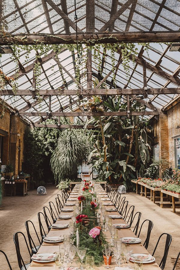 La Slow Wedding De Carol Y Félix En Un Invernadero En Barcelona. | Tendencias De Bodas Magazine |