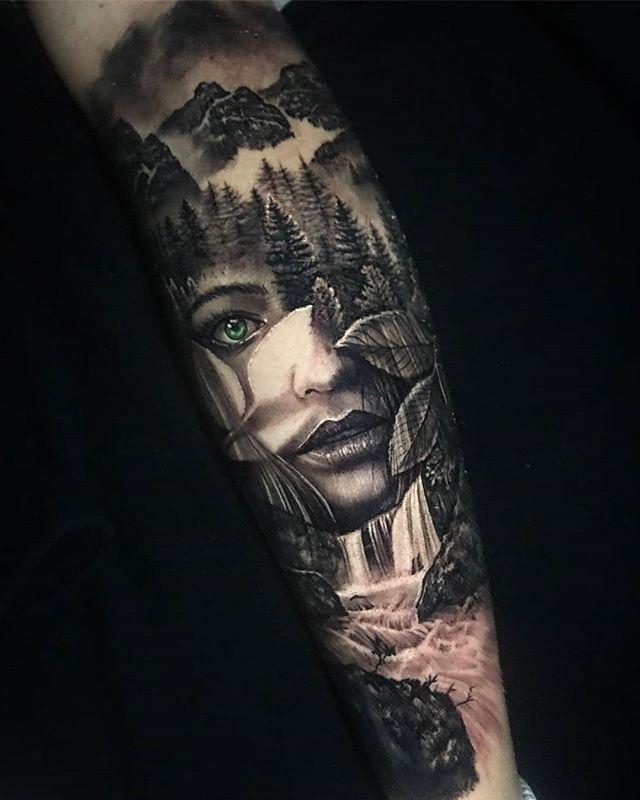 60 Surreal Arm Tattoo Art Design Ideas Animal Sleeve Tattoo Surreal Tattoo Nature Tattoos