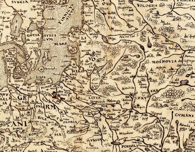 Livonia, 15701570 Maps, Livonia, Medieval History