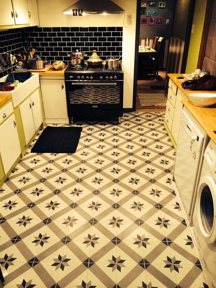 Cementtegels Keuken : Keuken Cementtegels Pinterest