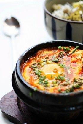 本場韓国の味「スンドゥブチゲ」