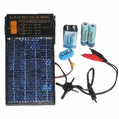 AA and 9 volt battery charger with 3, 6, 9, and 12 volt power supply  $26.50+ mAmz