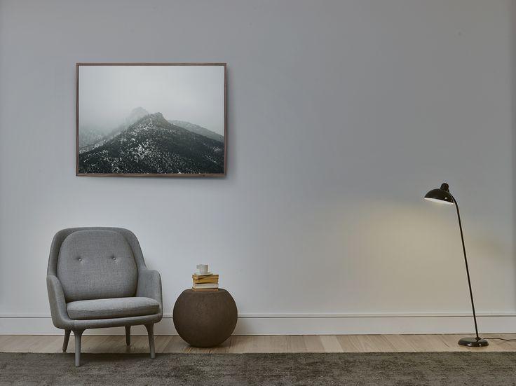 The Walnut Light Box 1000 x 750 mm - Volumes Gallery