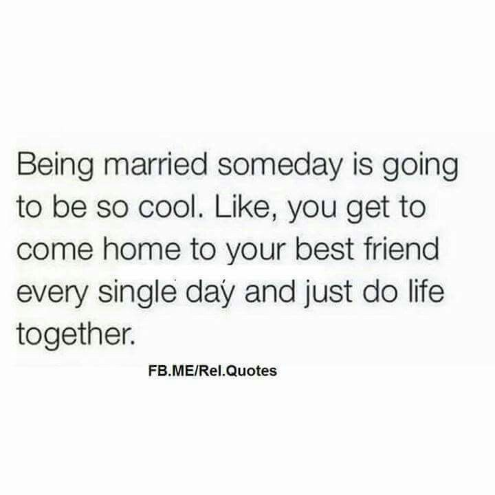 In this day and age, there's so much cynicism about marriage and understandably so. But I'm counting on this.