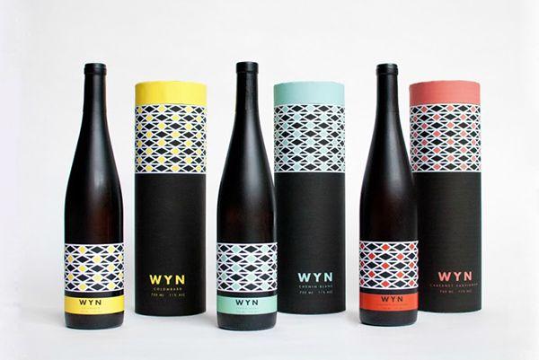 Wyn wine packaging design