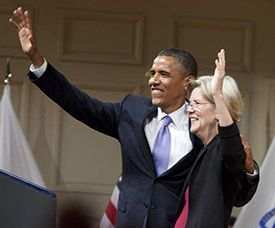 Elizabeth Warren for MA - President Barack Obama