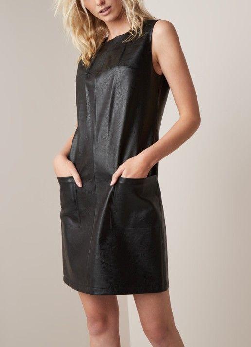 24e722615fed81 HUGO BOSS Alelly mini-jurk met opgestikte zakken