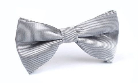 Silver Bow Tie | Shop Mens Bow Ties Neck Ties | Australia | OTAA
