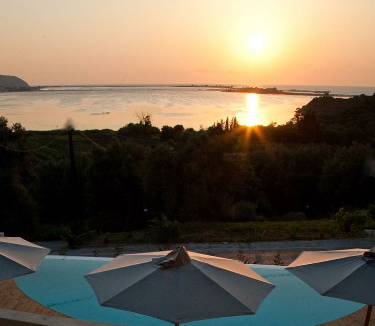 Ionian Sunset Bay apartments for rent by the Ionian sea | Outdoor views