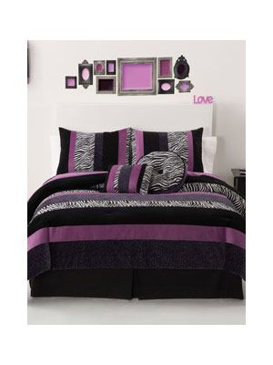 Seventeen Posh Bedding  I think this is what my daughter wants in her bedroom for her birthday