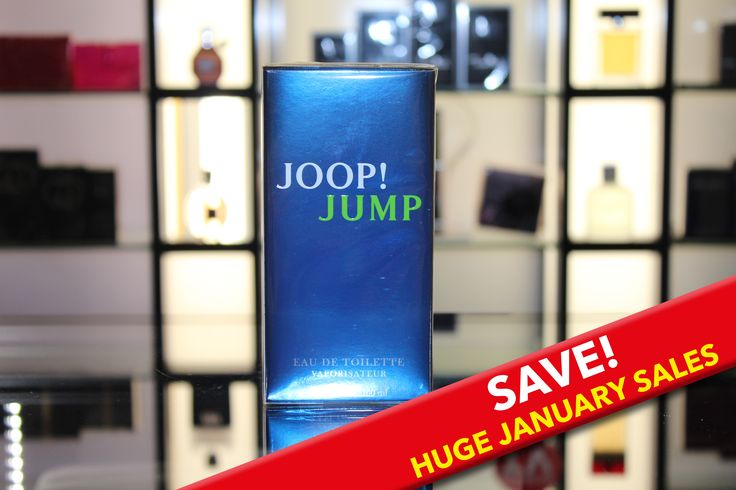 Jump straight into 2015 with JOOP! JUMP. This has a huge saving of £20 this January sale - now just £26 for 100ML. Jump is a fresh, modern fragrance. It is reassuringly masculine with a twist. A creative inspiration around frozen vodka and coriander leaves. An everyday, easy to wear fragrance with notes of rosemary, thyme, grapefruit, vodka, coriander leaves, heliotrop, tonka beans, vetiver and musk. #JOOP #Jump #Fragrance #Aftershave #Scent #Saving #Offer