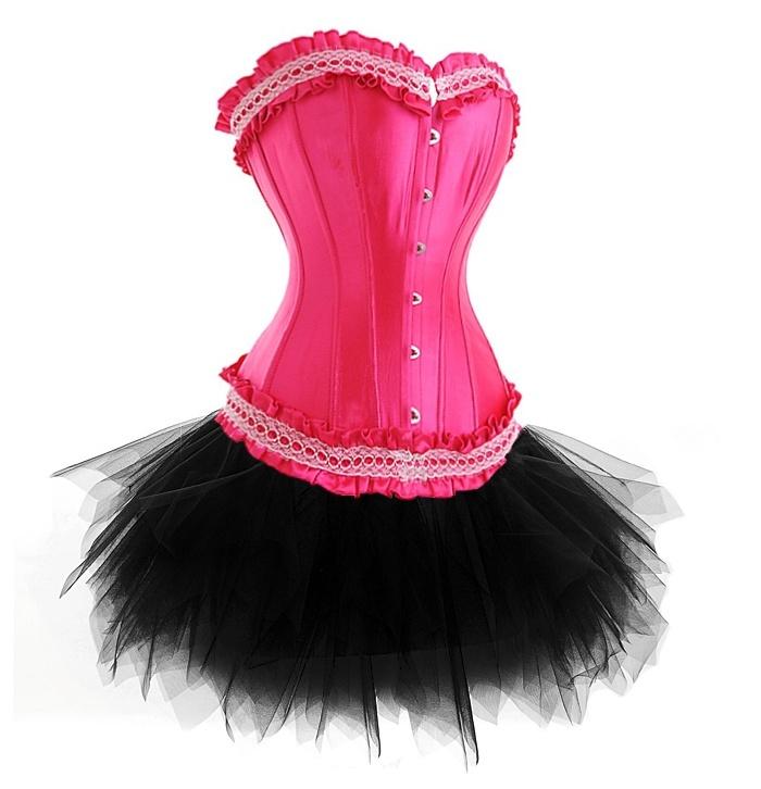 8bd4593ef8 Pink Burlesque corset