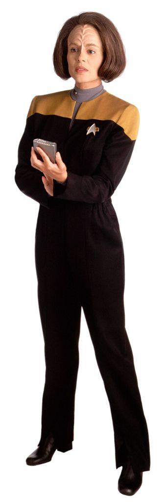 """Women of """"Star Trek - Voyager """" :B'Elanna  Torres played Roxann Dawson."""