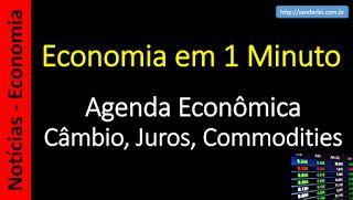 Economia em 1 Minuto - Sanderlei: BC: entrada de investimentos diretos no País seguiu surpreendendo positivamente em fevereiro