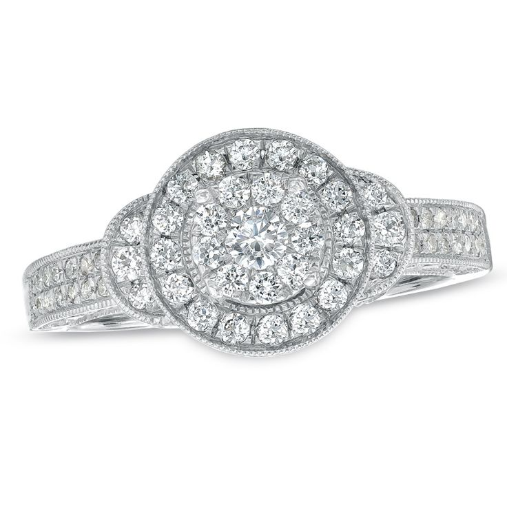 20 best Unique Engagement Ring Styles from Zales Jewelers images on