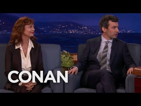 Nathan Fielder Brought Susan Sarandon As A Back-Up Guest  - CONAN on TBS