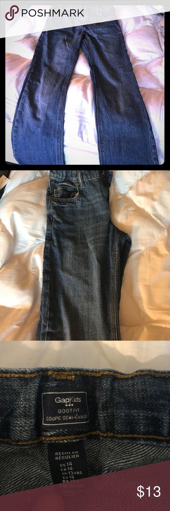 EUC GAP boys boot-cut jeans- excellent condition Boys boot-cut Gap kids jeans. Size 14. Great condition. 15% Bundle discount for kids jeans available. 🤗 GAP Bottoms Jeans