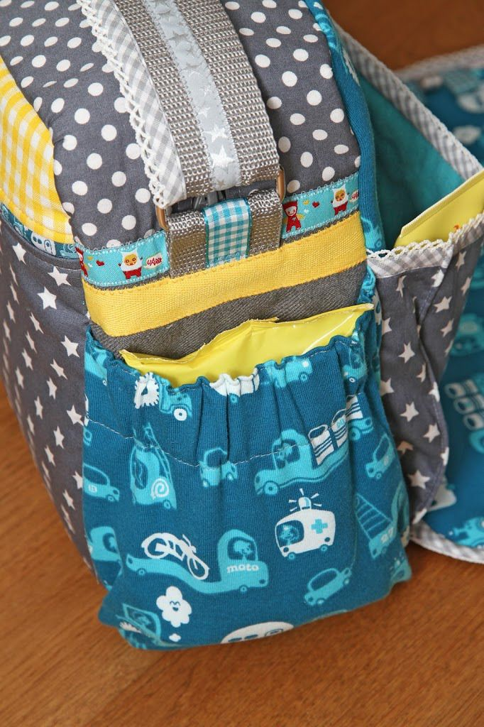 Luiertas klaar! | Diaperbag is ready! - Jip by Jan
