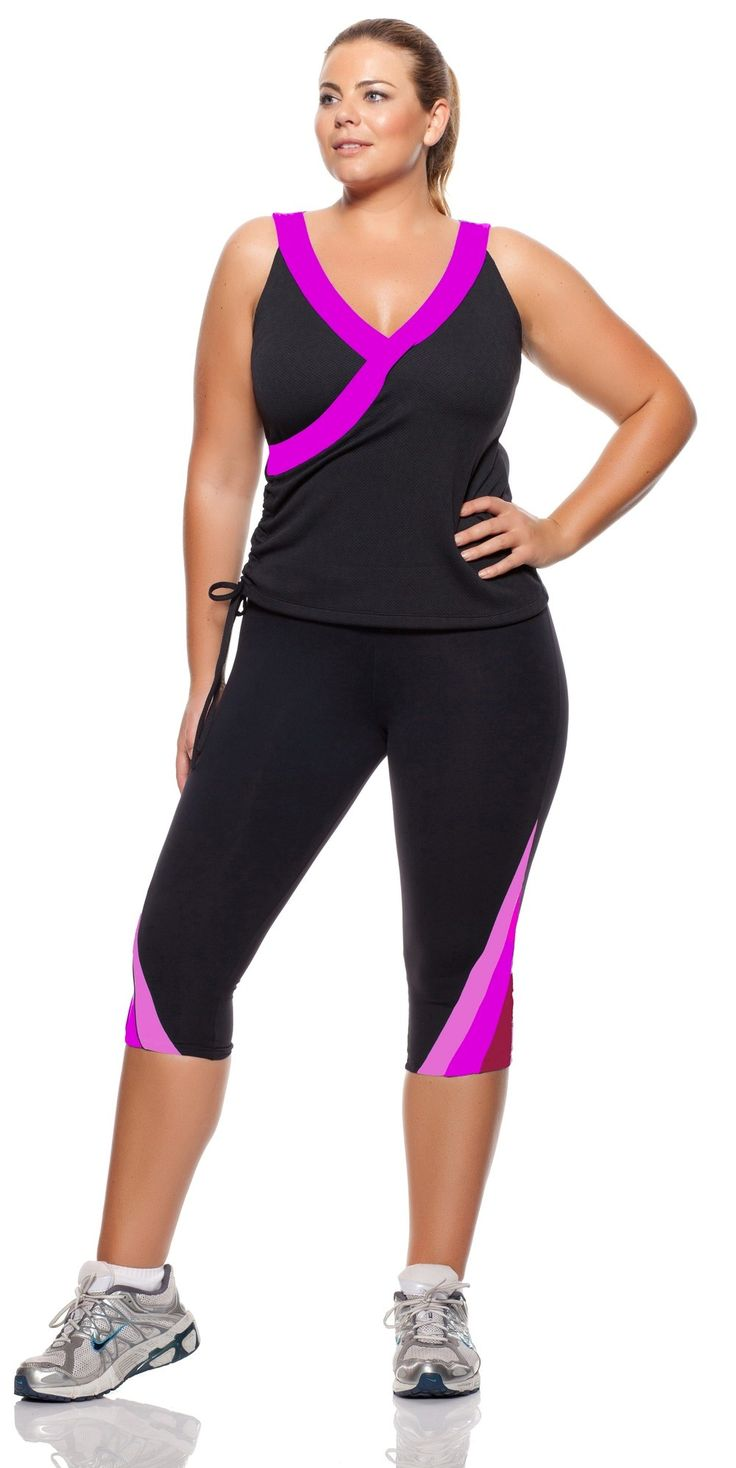 this page provides tips and guide on the plus size workout clothes