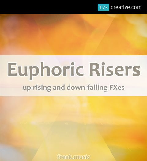 """► EUPHORIC RISERS - FX SAMPLES - a collection of 205 up-rising and down-falling FX samples. This pack contains everything you need to fill your track with professional FXes. Just pure and clear sounds, without any """"fillers"""". Check it out: http://www.123creative.com/electronic-music-production-audio-samples-and-loops/1386-euphoric-risers-fx-samples.html"""