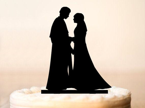 Hey, I found this really awesome Etsy listing at https://www.etsy.com/listing/254056079/star-wars-cake-topper-anakin-and-padme