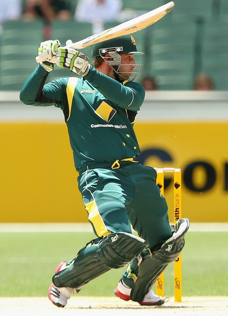 Phillip Hughes scored a half-century on his ODI debut, against Sri Lanka at the MCG #cricket #sports #australia