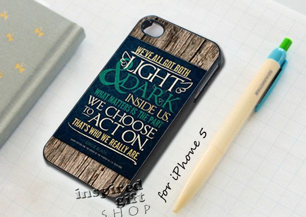 #light #and #dark #quotes #harry #potter #case #cover #accessories #iphone #samsung