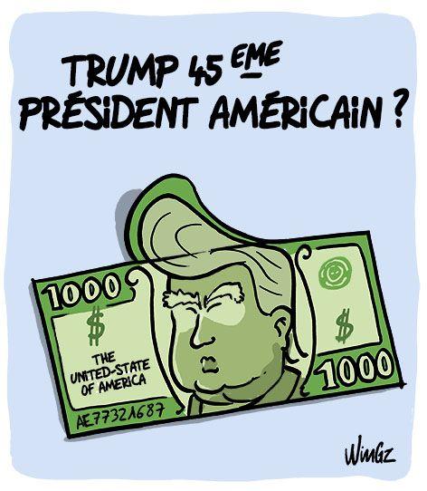 Wingz (2016-03-10) USA:  Donald Trump bien placé pour remporter les primaires et représenter le parti républicain aux élections présidentielles.