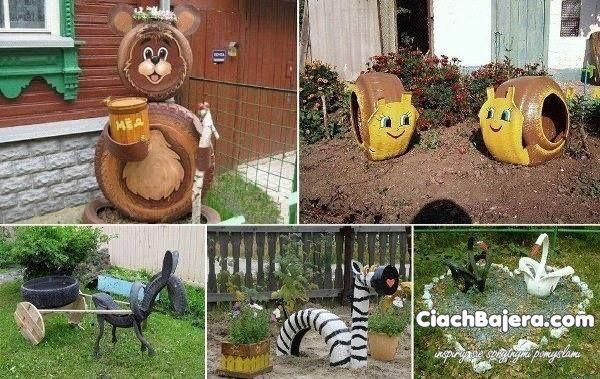 ozdoby ogrodowe