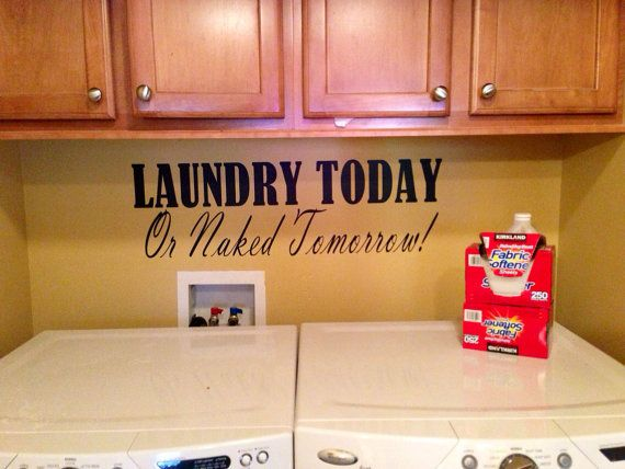 Best Art Wall Quote Vinyl Lettering Decal Laundry By With Vinyl Kche
