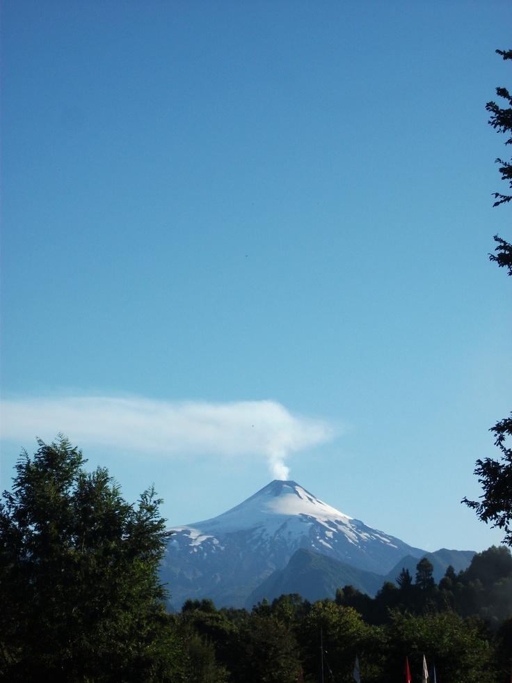 Volcán Caburga, Chile