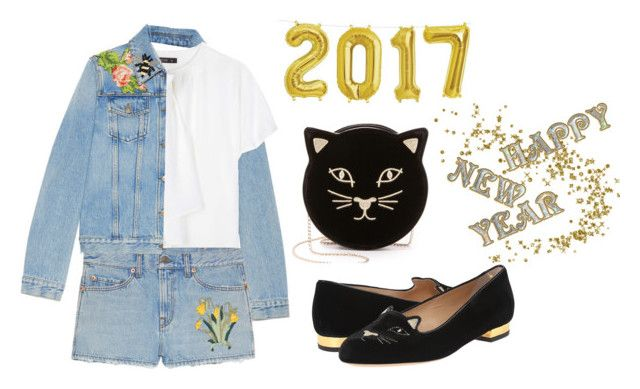 """happy new year *4"" by kryssicha on Polyvore featuring Gucci, Etro and Charlotte Olympia"