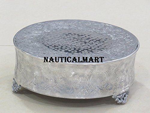 Nauticalmart Beautiful Cake Stand Wedding Round Cake Stan... https://www.amazon.co.uk/dp/B074161M22/ref=cm_sw_r_pi_dp_x_uyD6zbQ2D07DA