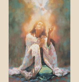 """The Comforter (""""Holy Spirit"""") by Michael Dudash 
