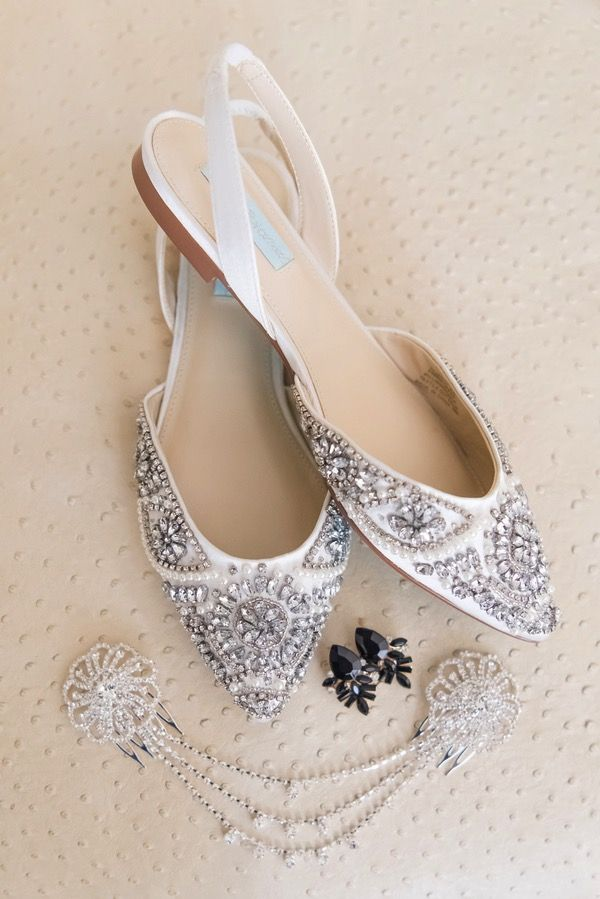 Art Deco Wedding Shoes 1920s Wedding Flats Art Deco Wedding