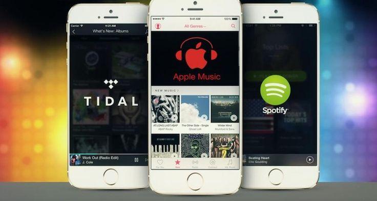 spotify-apple-music Spotify ya supera la barrera de los 50 millones de usuarios premium