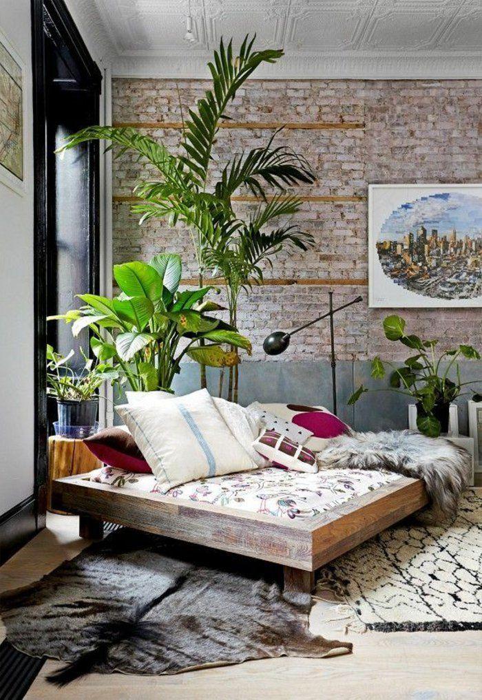 Les 25 meilleures id es de la cat gorie tapis de peau d for Plante verte chambre a coucher