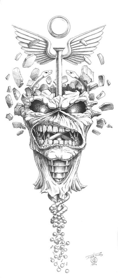 17 Best images about Iron maiden - eddie drawings and fan artwork on Pinterest