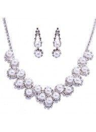 chain diamanten halsketting bruids sets huwelijk bruids accessoires, bruids…