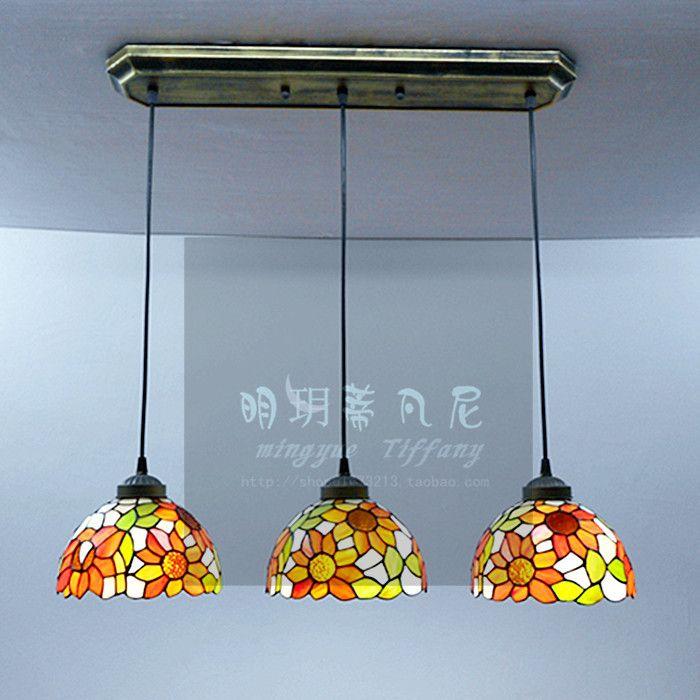 Мода tieyi 3 лампы кулон свет деревенский спальне фары столовая кулон свет современные лампы k