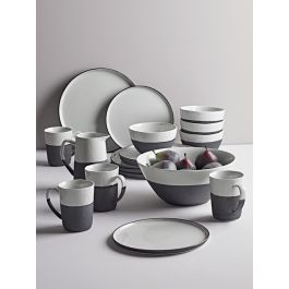 Monochrome Stoneware Dinnerware
